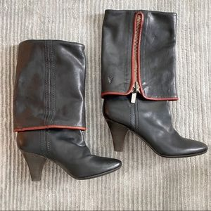 Frye over the knee heeled boot size 7.5